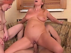 Amateur Home Porn Mom And Daughter Sharing Cock Hd Porn E5