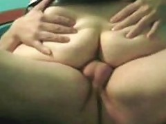 Chubby Assed Horny Wife Getting Fucked Anal Hardcore